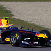 GEPA-12021199005 - FORMULA 1 - Testing in Jerez. Image shows Mark Webber (AUS/ Red Bull Racing). Photo: Jorge Guerrero/ Getty Images - For editorial use only. Image is free of charge
