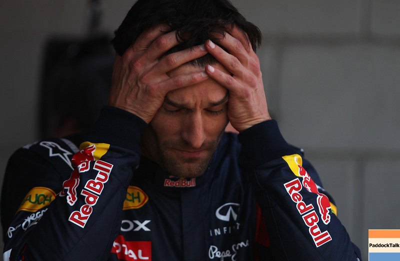 GEPA-21051199007 - FORMULA 1 - Grand Prix of Spain. Image shows Mark Webber (AUS/ Red Bull Racing). Photo: Vladimir Rys/ Getty Images - For editorial use only. Image is free of charge