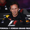 GEPA-14101199012 - FORMULA 1 - Grand Prix of South Korea, Korean International Circuit. Image shows team principal Christian Horner (Red Bull Racing). Keywords: press conference. Photo: Getty Images/ Mark Thompson - For editorial use only. Image is free of charge