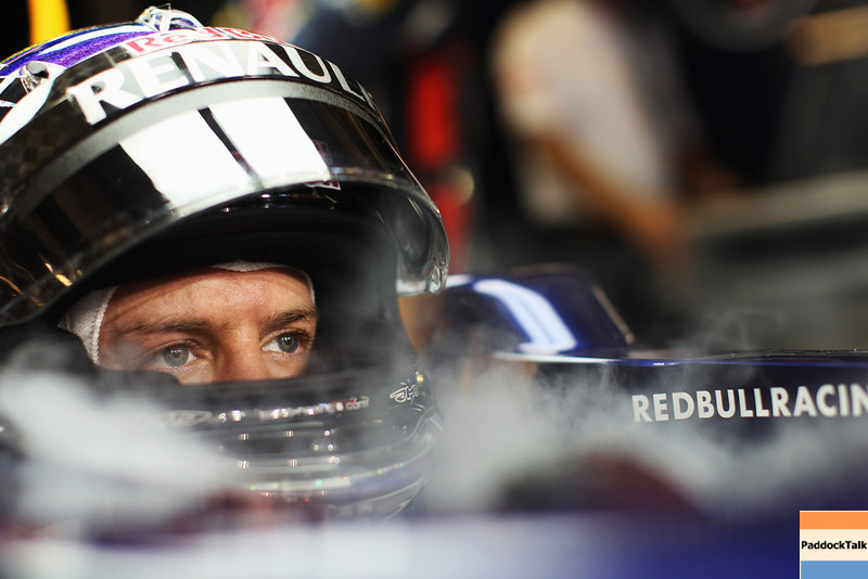 GEPA-13111199021 - FORMULA 1 - Grand Prix of Abu Dhabi, Yas Marina Circuit. Image shows Sebastian Vettel (GER/ Red Bull Racing). Photo: Getty Images/ Mark Thompson - For editorial use only. Image is free of charge