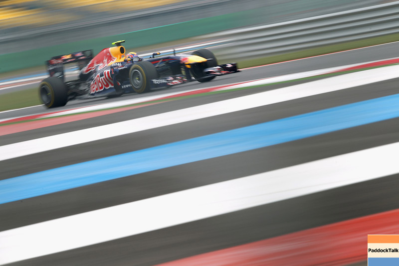 GEPA-15101199005 - FORMULA 1 - Grand Prix of South Korea, Korean International Circuit. Image shows Mark Webber (AUS/ Red Bull Racing). Photo: Getty Images/ Clive Mason - For editorial use only. Image is free of charge