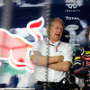 GEPA-08041199017 - FORMULA 1 - Grand Prix of Malaysia, Sepang Circuit. Image shows Motorsport Consultant Helmut Marko and Sebastian Vettel (GER/ Red Bull Racing).  Photo: Getty Images/ Paul Gilham - For editorial use only. Image is free of charge