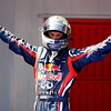 GEPA-22051199019 - FORMULA 1 - Grand Prix of Spain. Image shows the rejoicing of Sebastian Vettel (GER/ Red Bull Racing). Photo: Mark Thompson/ Getty Images - For editorial use only. Image is free of charge