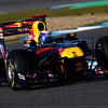 GEPA-12021199022 - FORMULA 1 - Testing in Jerez. Image shows Sebastian Vettel (GER/ Red Bull Racing). Photo: Mark Thompson/ Getty Images - For editorial use only. Image is free of charge