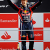 GEPA-11091199021 - FORMULA 1 - Grand Prix of Italy. Image shows the rejoicing of Sebastian Vettel (GER/ Red Bull Racing). Keywords: award ceremony. Photo: Getty Images/ Paul Gilham - For editorial use only. Image is free of charge