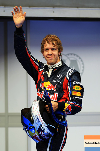 GEPA-09041199006 - FORMULA 1 - Grand Prix of Malaysia, Sepang Circuit. Image shows Sebastian Vettel (GER/ Red Bull Racing). Photo: Getty Images/ Mark Thompson - For editorial use only. Image is free of charge
