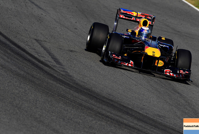 GEPA-12021199023 - FORMULA 1 - Testing in Jerez. Image shows Sebastian Vettel (GER/ Red Bull Racing). Photo: Mark Thompson/ Getty Images - For editorial use only. Image is free of charge
