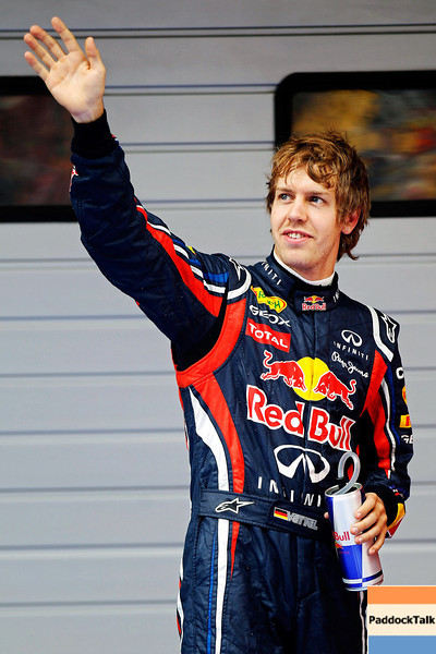 GEPA-16041199015 - FORMULA 1 - Grand Prix of China. Image shows Sebastian Vettel (GER/ Red Bull Racing). Photo: Getty Images/ Mark Thompson - For editorial use only. Image is free of charge