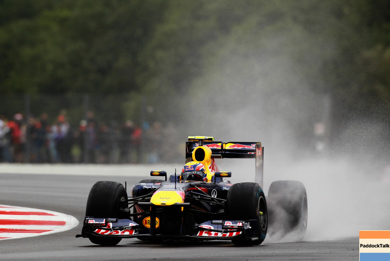 GEPA-08071199012 - FORMULA 1 - Grand Prix of Great Britain. Image shows Mark Webber (AUS/ Red Bull Racing). Photo: Getty Images/ Paul Gilham - For editorial use only. Image is free of charge