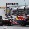 GEPA-12061199007 - FORMULA 1 - Grand Prix of Canada. Image shows Mark Webber (AUS/ Red Bull Racing) and Lewis Hamilton (GBR/ McLaren Mercedes). Photo: Paul Gilham/ Getty Images - For editorial use only. Image is free of charge