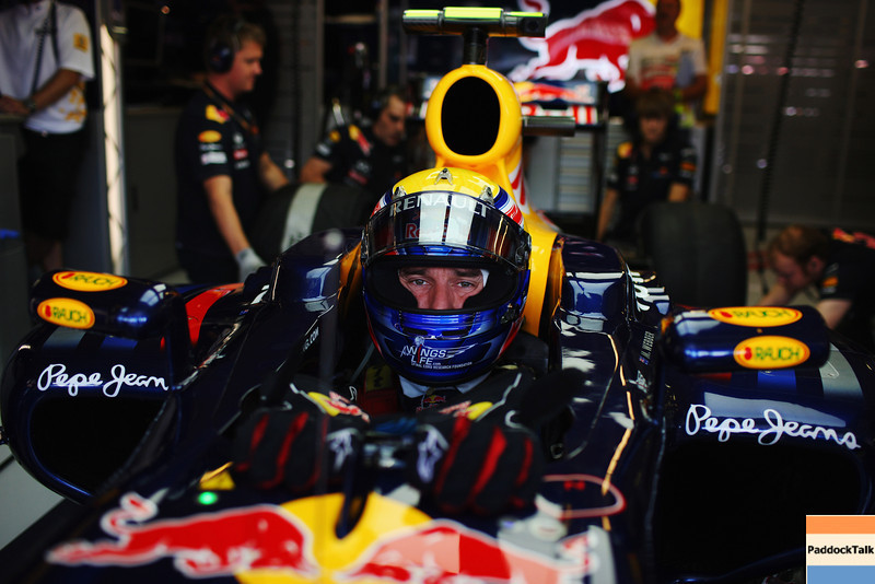GEPA-30071199009 - FORMULA 1 - Grand Prix of Hungary, Hungaroring. Image shows Mark Webber (AUS/ Red Bull Racing). Photo: Getty Images/ Mark Thompson - For editorial use only. Image is free of charge