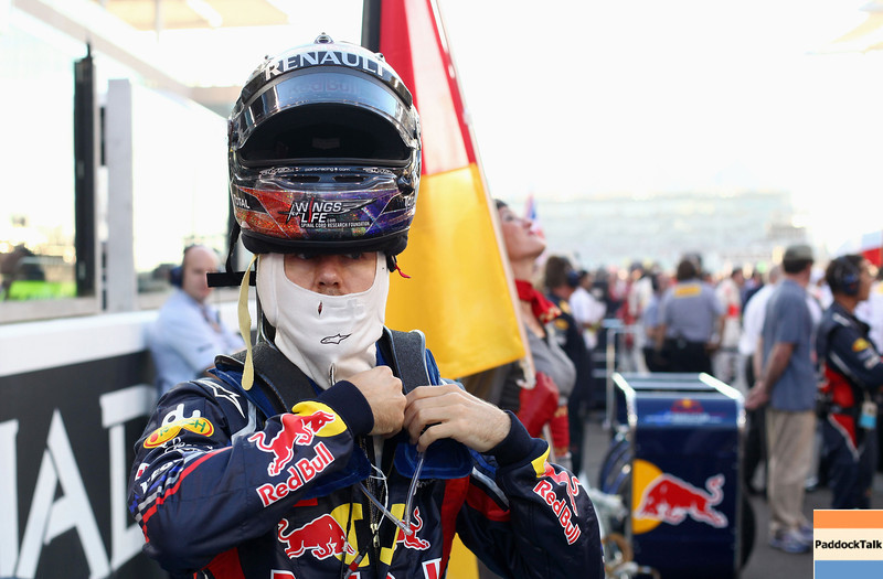 GEPA-13111199013 - FORMULA 1 - Grand Prix of Abu Dhabi, Yas Marina Circuit. Image shows Sebastian Vettel (GER/ Red Bull Racing). Photo: Getty Images/ Clive Mason - For editorial use only. Image is free of charge