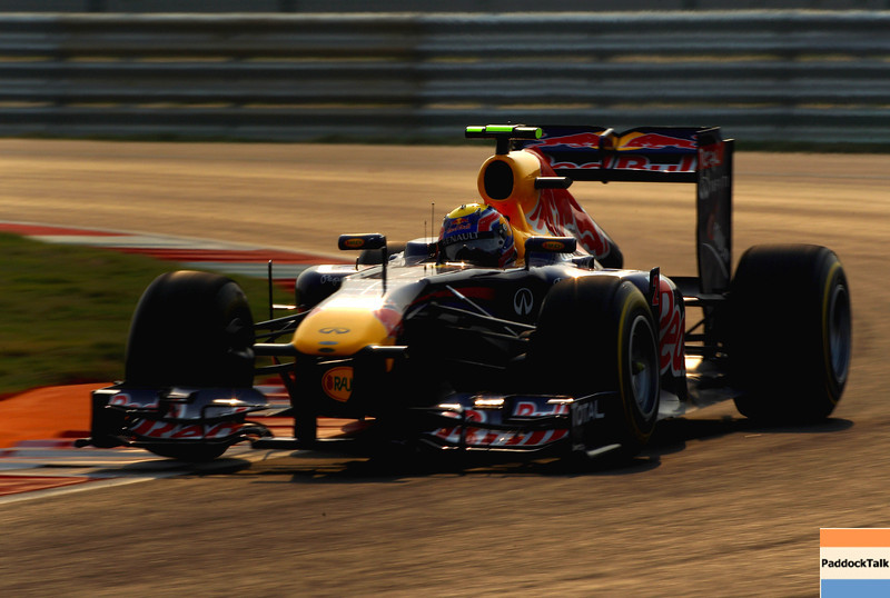 GEPA-29101199015 - FORMULA 1 - Grand Prix of India, Buddh-International-Circuit. Image shows Mark Webber (AUS/ Red Bull Racing). Photo: Getty Images/ Clive Mason - For editorial use only. Image is free of charge