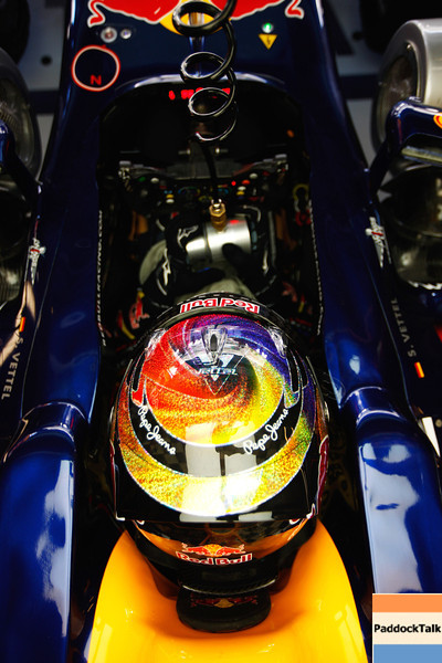 GEPA-11111199003 - FORMULA 1 - Grand Prix of Abu Dhabi, Yas Marina Circuit. Image shows Sebastian Vettel (GER/ Red Bull Racing). Photo: Getty Images/ Mark Thompson - For editorial use only. Image is free of charge