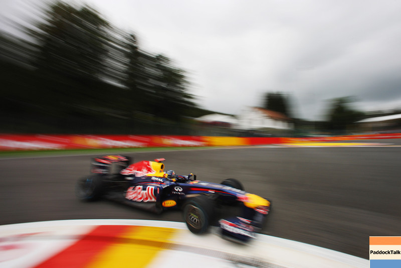 GEPA-27081199014 - FORMULA 1 - Grand Prix of Belgium, Spa Francorchamps. Image shows a feature with Sebastian Vettel (GER/ Red Bull Racing). Photo: Getty Images/ Mark Thompson - For editorial use only. Image is free of charge