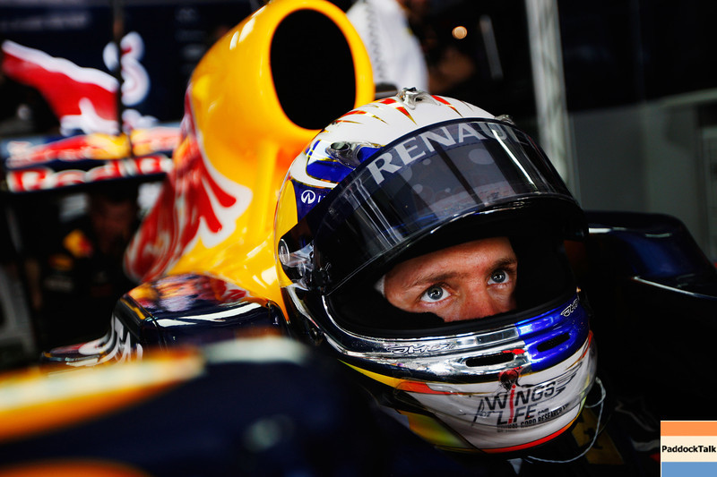 GEPA-08041199004 - FORMULA 1 - Grand Prix of Malaysia, Sepang Circuit. Image shows Sebastian Vettel (GER/ Red Bull Racing). Photo: Getty Images/ Mark Thompson - For editorial use only. Image is free of charge