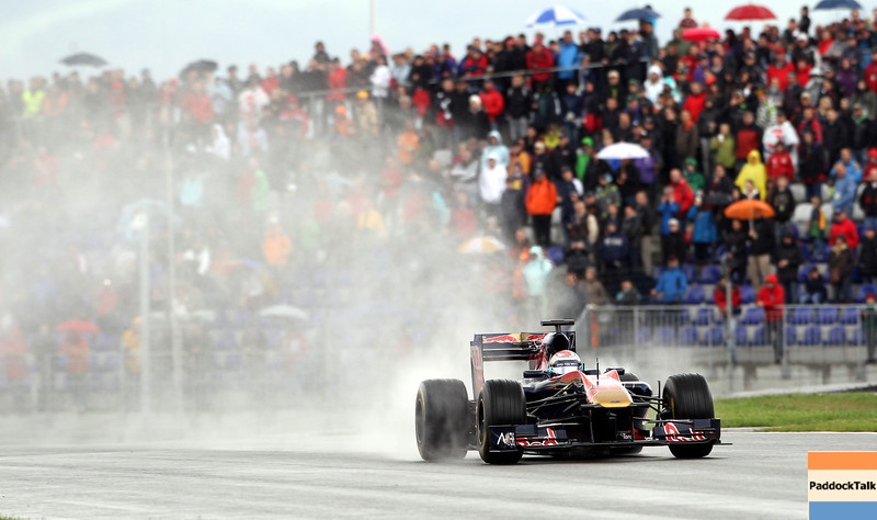 GEPA-15051181152 - SPIELBERG,AUSTRIA,15.MAY.11 - MOTORSPORT, FORMULA 1 - Open House Day Red Bull Ring, project Spielberg. Image shows Sebastien Buemi (SUI/ Scuderia Toro Rosso). Photo: GEPA pictures/ Christian Walgram - For editorial use only. Image is free of charge.