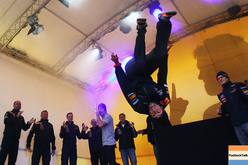 GEPA-22101199505 - FORMULA 1 - World Championship Party. Image shows a showact. Photo: Getty Images/ Alex Grimm - For editorial use only. Image is free of charge