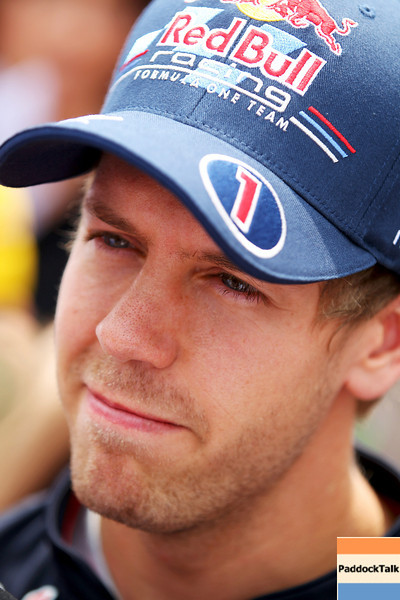 GEPA-09061199004 - FORMULA 1 - Grand Prix of Canada. Image shows Sebastian Vettel (GER/ Red Bull Racing). Keyword: interview. Photo: Clive Rose/ Getty Images - For editorial use only. Image is free of charge