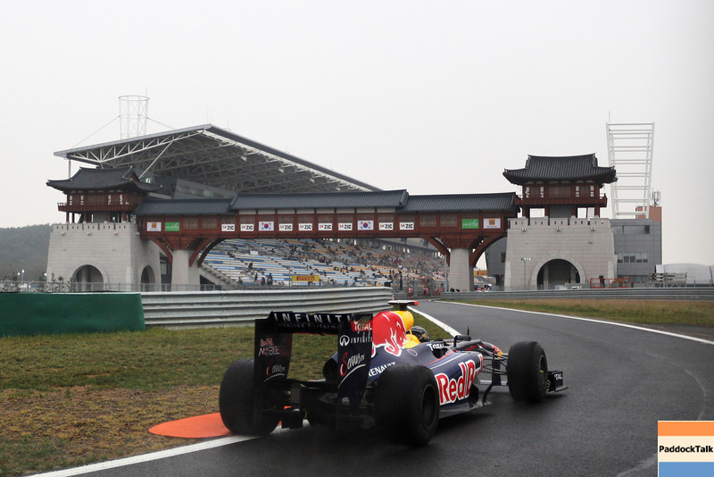 GEPA-14101199016 - FORMULA 1 - Grand Prix of South Korea, Korean International Circuit. Image shows Sebastian Vettel (GER/ Red Bull Racing). Photo: Getty Images/ Clive Rose - For editorial use only. Image is free of charge
