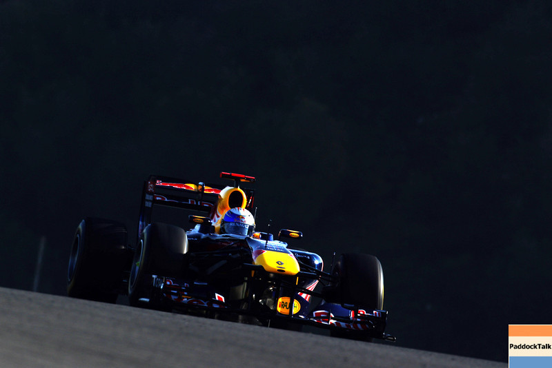GEPA-12021199025 - FORMULA 1 - Testing in Jerez. Image shows Sebastian Vettel (GER/ Red Bull Racing). Photo: Paul Gilham/ Getty Images - For editorial use only. Image is free of charge