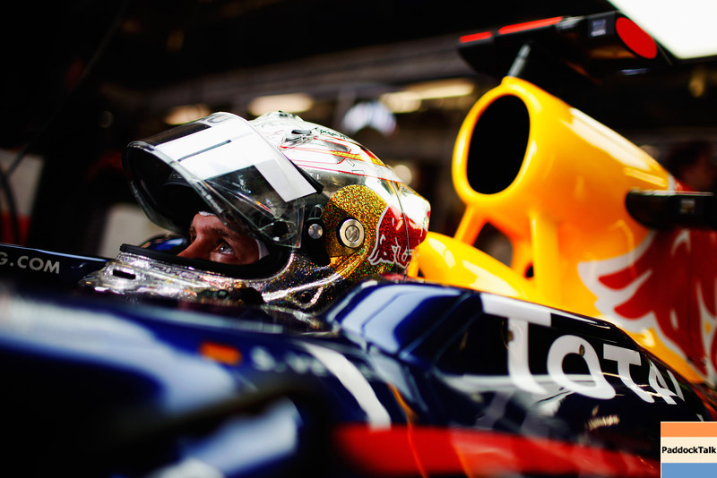 GEPA-23071199017 - FORMULA 1 - Grand Prix of Germany, Nuerburgring. Image shows Sebastian Vettel (GER/ Red Bull Racing). Photo: Getty Images/ Mark Thompson - For editorial use only. Image is free of charge