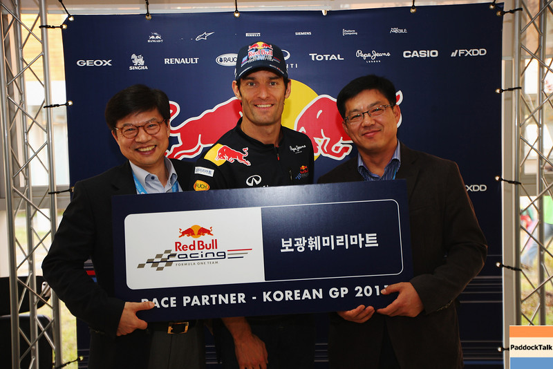 GEPA-15101199019 - FORMULA 1 - Grand Prix of South Korea, Korean International Circuit. Image shows Mark Webber (AUS/ Red Bull Racing). Photo: Getty Images/ Mark Thompson - For editorial use only. Image is free of charge