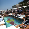 GEPA-28051199501 - FORMULA 1 - Grand Prix of Monaco. Image shows guests on the Red Bull Energy Station. Keywords: swimming pool. Photo: Gareth Cattermole/ Getty Images - For editorial use only. Image is free of charge