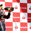 GEPA-10071199009 - FORMULA 1 - Grand Prix of Great Britain. Image shows Sebastian Vettel (GER/ Red Bull Racing). Keywords: award ceremony, podium, champagne. Photo: Getty Images/ Mark Thompson - For editorial use only. Image is free of charge