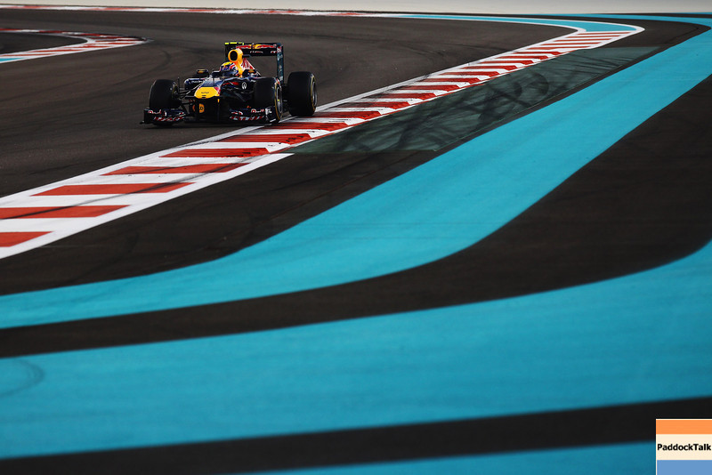 GEPA-13111199019 - FORMULA 1 - Grand Prix of Abu Dhabi, Yas Marina Circuit. Image shows Mark Webber (AUS/ Red Bull Racing). Photo: Getty Images/ Clive Mason - For editorial use only. Image is free of charge