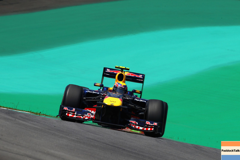 GEPA-25111199011 - FORMULA 1 - Grand Prix of Brazil, Interlagos. Image shows Mark Webber (AUS/ Red Bull Racing). Photo: Getty Images/ Clive Mason - For editorial use only. Image is free of charge