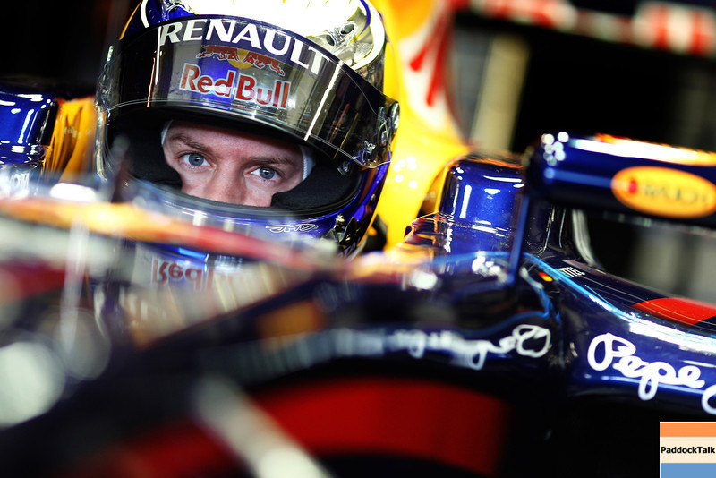 GEPA-12021199018 - FORMULA 1 - Testing in Jerez. Image shows Sebastian Vettel (GER/ Red Bull Racing). Photo: Paul Gilham/ Getty Images - For editorial use only. Image is free of charge