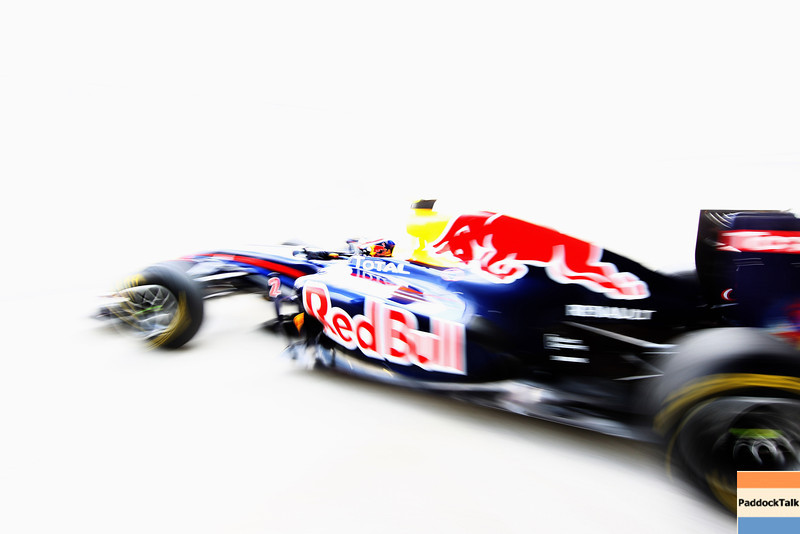 GEPA-10021199011 - FORMULA 1 - Testing in Jerez. Image shows Mark Webber (AUS/ Red Bull Racing). Photo: Paul Gilham/ Getty Images - For editorial use only. Image is free of charge