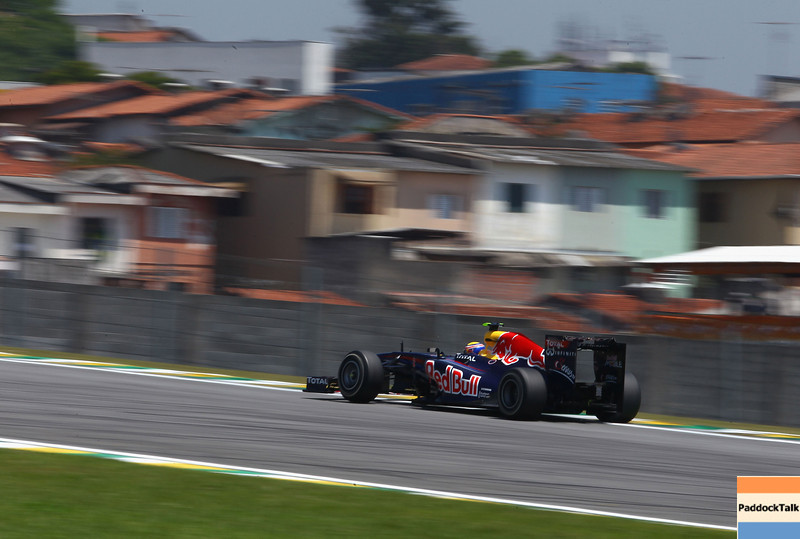 GEPA-25111199010 - FORMULA 1 - Grand Prix of Brazil, Interlagos. Image shows Mark Webber (AUS/ Red Bull Racing). Photo: Getty Images/ Clive Mason - For editorial use only. Image is free of charge