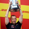 GEPA-08051199034 - FORMULA 1 - Grand Prix of Turkey. Image shows chief engineer Mark Ellis (Red Bull Racing). Keywords: podium, award ceremony, trophy. Photo: Mark Thompson/ Getty Images - For editorial use only. Image is free of charge