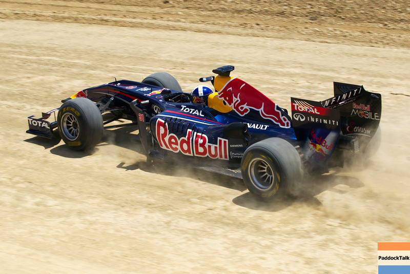 GEPA-19081199901 - FORMULA 1 - Showrun, Circuit of the Americas. Image shows David Coulthard (GBR). Photo: Red Bull Content Pool/ Chris Tedesco - For editorial use only. Image is free of charge