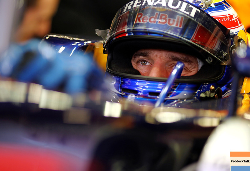 GEPA-10031199003 - FORMULA 1 - Testing in Barcelona, Circuit de Catalunya. Image shows Mark Webber (AUS/ Red Bull Racing). Photo: Paul Gilham/ Getty Images - For editorial use only. Image is free of charge