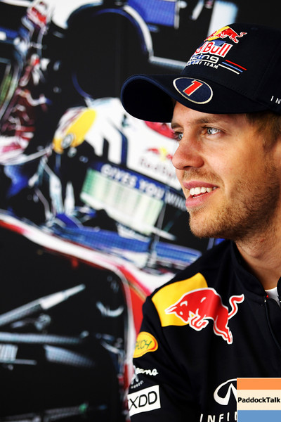 GEPA-19051199009 - FORMULA 1 - Grand Prix of Spain. Image shows Sebastian Vettel (GER/ Red Bull Racing). Photo: Paul Gilham/ Getty Images - For editorial use only. Image is free of charge