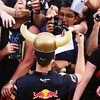 GEPA-19051199004 - FORMULA 1 - Grand Prix of Spain. Image shows Sebastian Vettel (GER/ Red Bull Racing) and fans. Photo: Ker Robertson/ Getty Images - For editorial use only. Image is free of charge