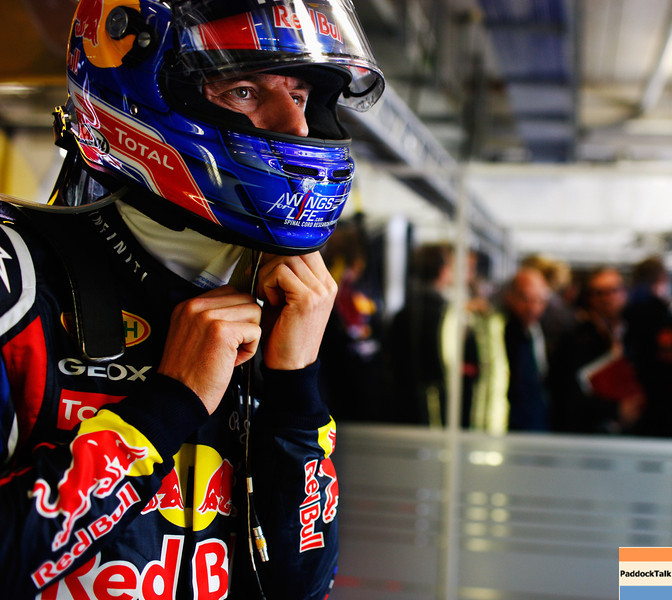GEPA-23071199012 - FORMULA 1 - Grand Prix of Germany, Nuerburgring. Image shows Mark Webber (AUS/ Red Bull Racing). Photo: Getty Images/ Mark Thompson - For editorial use only. Image is free of charge