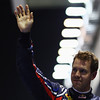 GEPA-24091199003 - FORMULA 1 - Grand Prix of Singapore. Image shows the rejoicing of Sebastian Vettel (GER/ Red Bull Racing). Photo: Getty Images/ Vladimir Rys - For editorial use only. Image is free of charge
