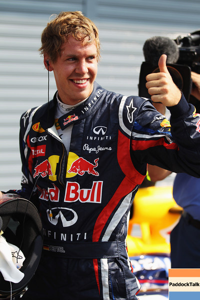 GEPA-10091199005 - FORMULA 1 - Grand Prix of Italy. Image shows Sebastian Vettel (GER/ Red Bull Racing). Photo: Getty Images/ Mark Thompson - For editorial use only. Image is free of charge