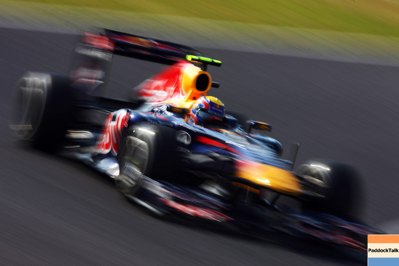 GEPA-07101199017 - FORMULA 1 - Grand Prix of Japan. Image shows Mark Webber (AUS/ Red Bull Racing). Photo: Getty Images/ Mark Thompson - For editorial use only. Image is free of charge