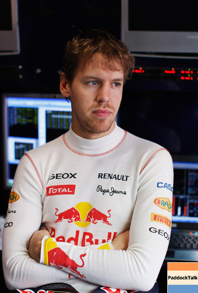GEPA-18021199015 - FORMULA 1 - Testing in Barcelona, Circuit de Catalunya. Image shows Sebastian Vettel (GER/ Red Bull Racing). Photo: Mark Thompson/ Getty Images - For editorial use only. Image is free of charge