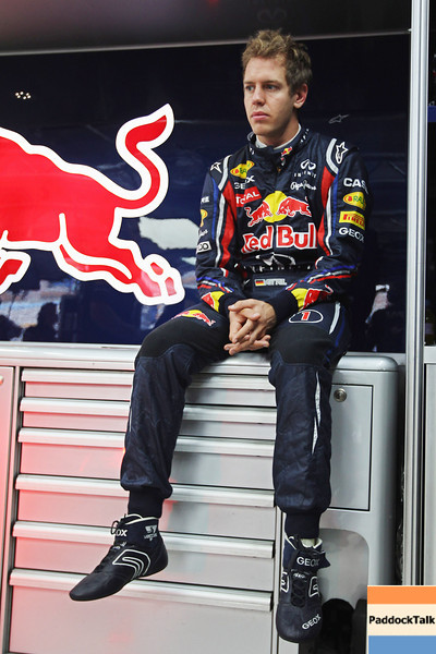 GEPA-14101199005 - FORMULA 1 - Grand Prix of South Korea, Korean International Circuit. Image shows Sebastian Vettel (GER/ Red Bull Racing). Photo: Getty Images/ Clive Rose - For editorial use only. Image is free of charge
