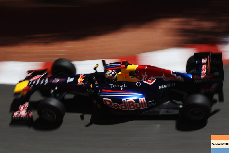 GEPA-28051199003 - FORMULA 1 - Grand Prix of Monaco. Image shows Sebastian Vettel (GER/ Red Bull Racing). Photo: Mark Thompson/ Getty Images - For editorial use only. Image is free of charge