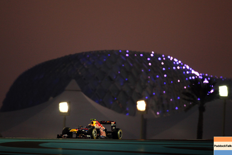 GEPA-13111199005 - FORMULA 1 - Grand Prix of Abu Dhabi, Yas Marina Circuit. Image shows Mark Webber (AUS/ Red Bull Racing). Photo: Getty Images/ Mark Thompson - For editorial use only. Image is free of charge