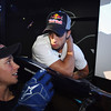 GEPA-08061199012 - FORMULA 1, MOTOGP - MotoGP Riders Visit Red Bull Factory. Image shows Casey Stoner (AUS) and Andrea Dovizioso (ITA/ Honda). Photo: Getty Images/ Bryn Lennon - For editorial use only. Image is free of charge
