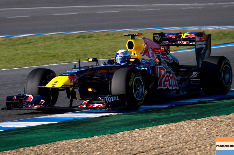 GEPA-12021199013 - FORMULA 1 - Testing in Jerez. Image shows Sebastian Vettel (GER/ Red Bull Racing). Photo: Jorge Guerrero/ Getty Images - For editorial use only. Image is free of charge