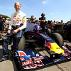 GEPA-03071199902 - FORMULA 1 - Goodwood Festival of Speed, Red Bull Showrun. Image shows technical officer Adrian Newey (Red Bull Racing). Photo: Getty Images/ Clive Rose - For editorial use only. Image is free of charge